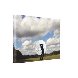 Golf World Canvas Print