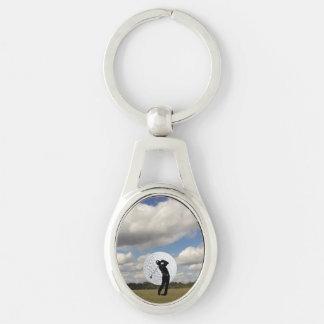 Golf World Keychain