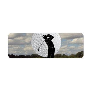 Golf World Return Address Label
