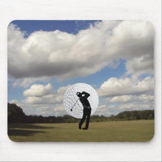 Golf World Mouse Pad
