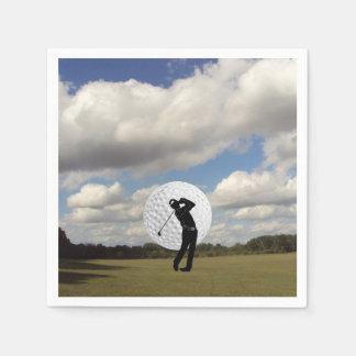 Golf World Paper Napkins