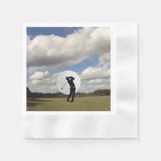 Golf World Paper Napkin
