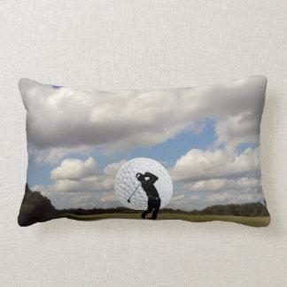 Golf World Throw Pillow