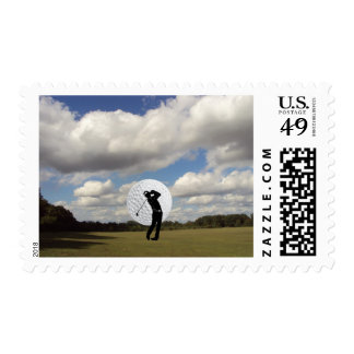 Golf World Postage
