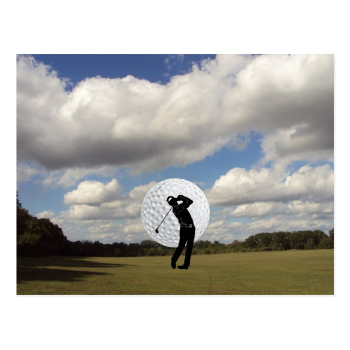 Golf World Postcard