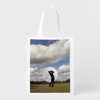 Golf World Reusable Grocery Bag