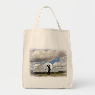 Golf World Tote Bag