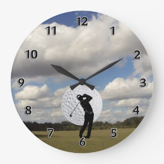 Man Cave Personalized Clocks