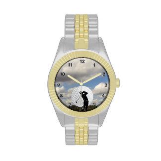 Golf World Wrist Watches