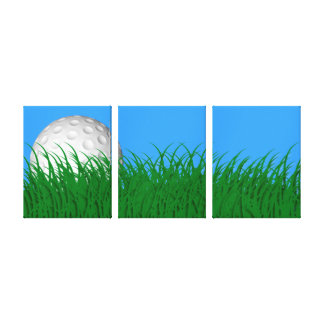 Golf Wrapped Canvas Canvas Prints