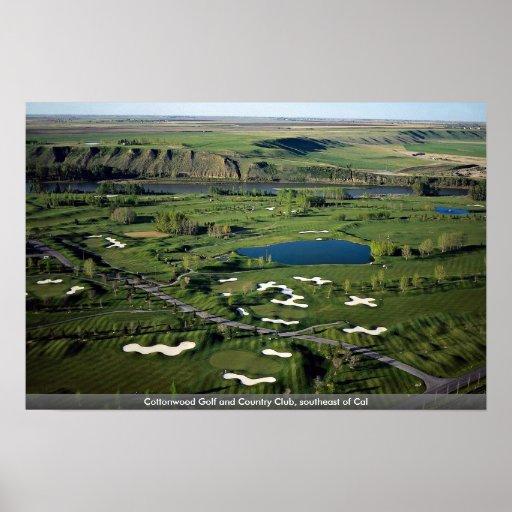 Golf y club de campo del Cottonwood, al sureste de Posters