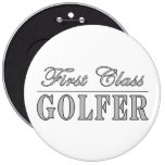 Golf y golfistas: Golfista de primera clase Pin