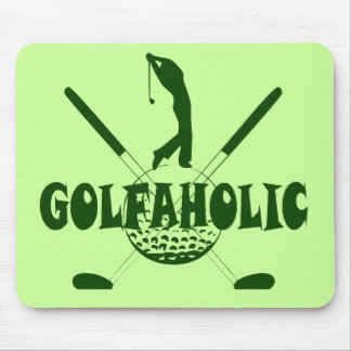 GOLFAHOLIC MOUSE PAD
