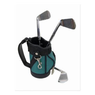 GolfBagClubs083109 Postcard