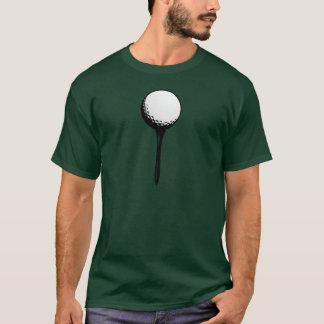 Golfball for Custom Golf Apparel T-Shirt