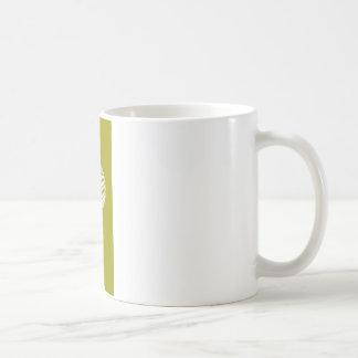 golfball green coffee mugs