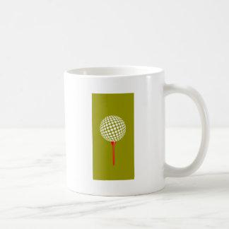 golfball green mug
