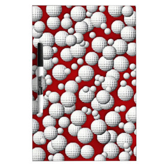 Golfballs everywhere Dry-Erase board