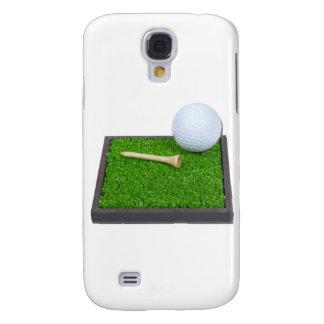 GolfBallTeeLayingOnGrass102111 Samsung S4 Case