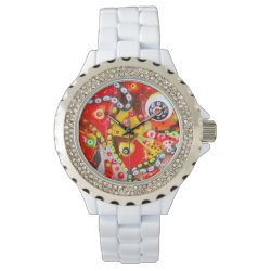 golfcake pink wrist watches