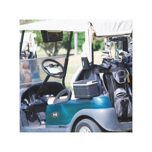 Golfcart Canvas Print