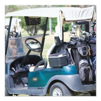 Golfcart Invitations