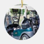 Golfcart Ornament
