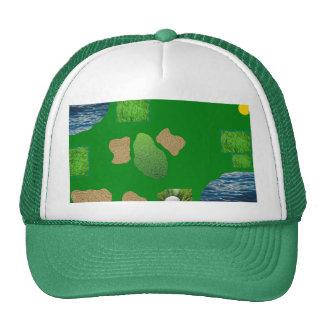 golfcourse cap trucker hat