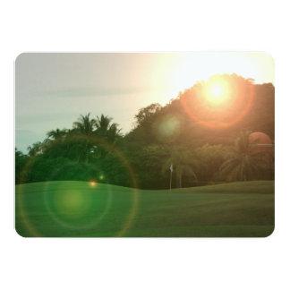 golfcourse invitation
