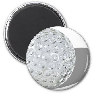 GolfCrystalBall092110 Imán Redondo 5 Cm