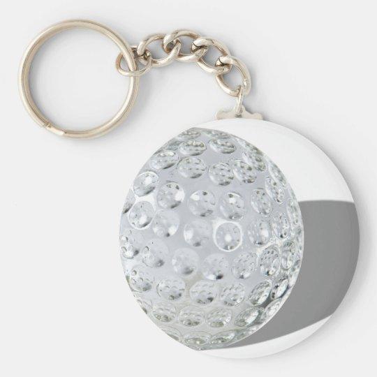 GolfCrystalBall092110 Keychain