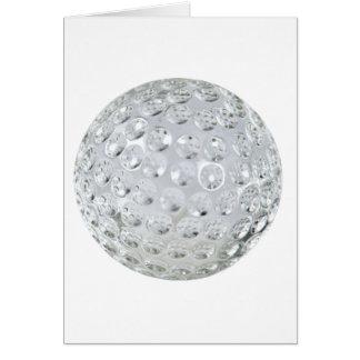 GolfCrystalBallonly092110 Greeting Card