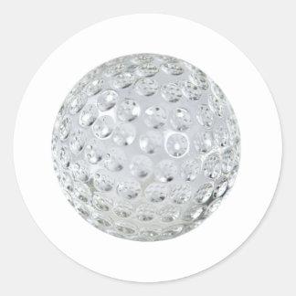GolfCrystalBallonly092110 Sticker