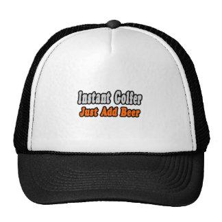 Golfer...Add Beer Trucker Hat
