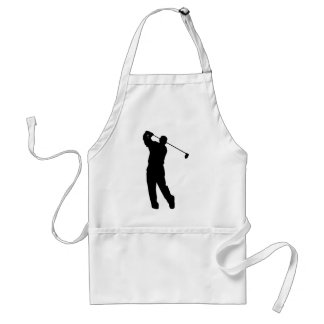 Golfer Adult Apron