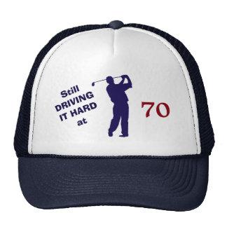 Golfer Birthday 70 Trucker Hat