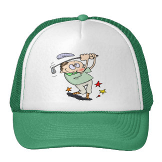 Golfer Cap Trucker Hat