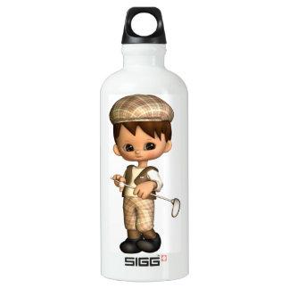 Golfer Caricature SIGG Traveler 0.6L Water Bottle