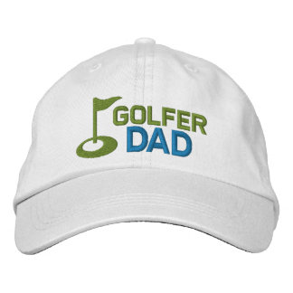 Golfer Dad Embroidered Baseball Caps