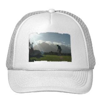 Golfer Design  Baseball Hat
