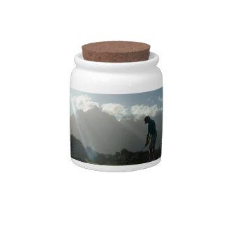 Golfer Design Candy Jar