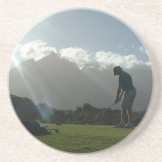Golfer Design Coaster