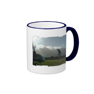 Golfer Design  Coffee Mug