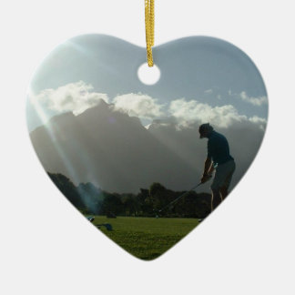Golfer Design Ornament
