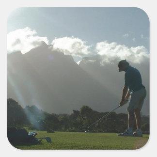 Golfer Design  Stickers