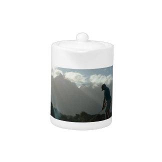 Golfer Design Teapot