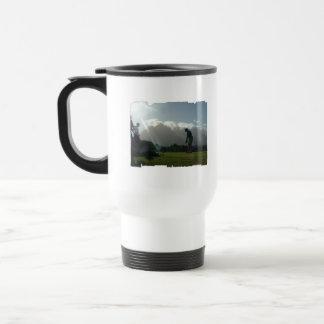 Golfer Design Travel Mug