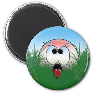 Golfer Gift Idea Golf Player Golfball Humor Funny 2 Inch Round Magnet