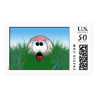 Golfer Gift Idea Golf Player Golfball Humor Funny Postage