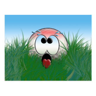 Golfer Gift Idea Golf Player Golfball Humor Funny Postcard
